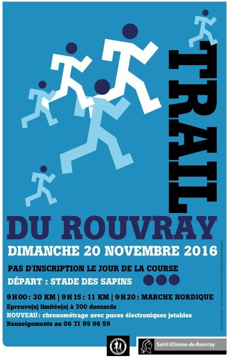 Trail Du Rouvray Saint Tienne Du Rouvray 76 Bibchip